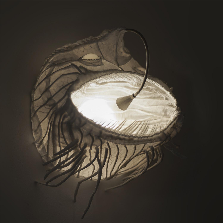 Sumec — designové nástěnné světlo od Spacelights