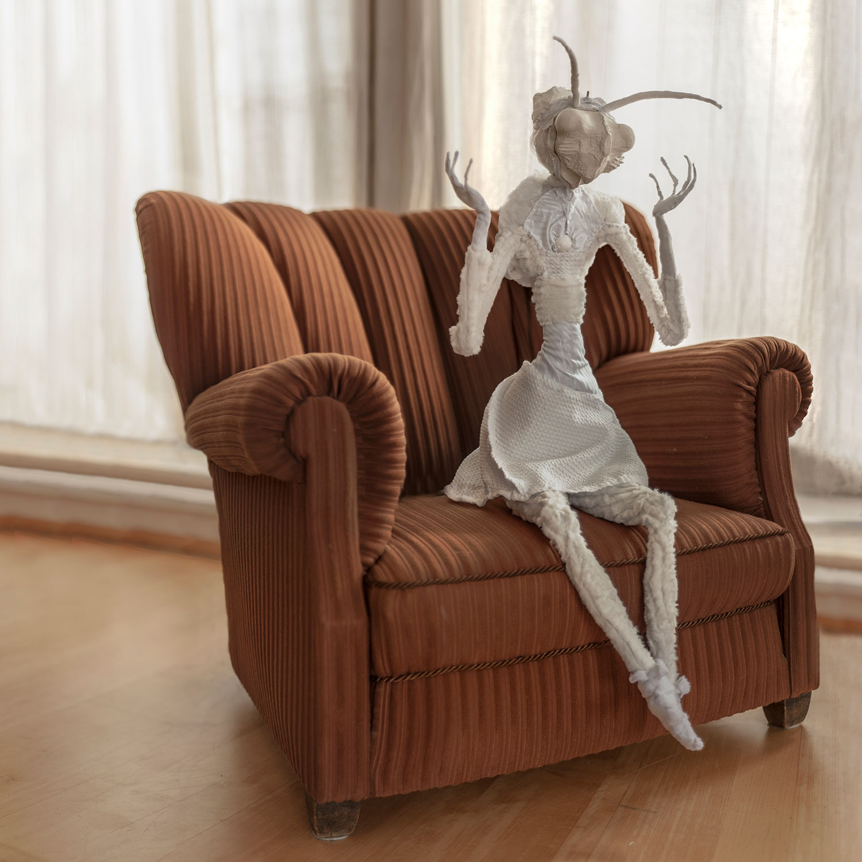 Mantis — lighting object by Eva Necasova
