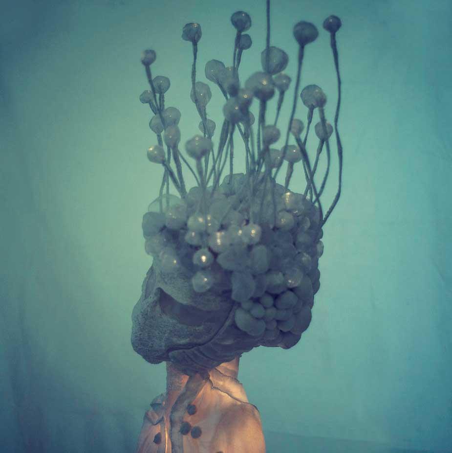 Haku — lighting object, lightsculpture by Eva Necasova
